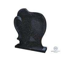 thumb-Zwarte grafsteen met koperkleurige spikkel-1
