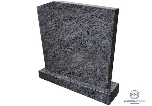 Eenvoudige, grijze grafsteen