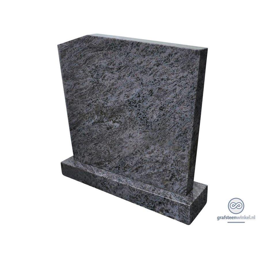 Eenvoudige, grijze grafsteen-1