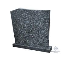 thumb-Moderne grafsteen, gemêleerd grijs-1