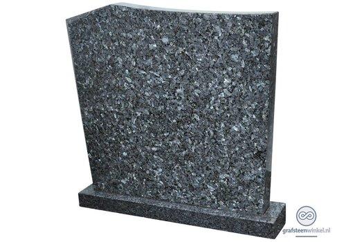 Moderne grafsteen, gemêleerd grijs
