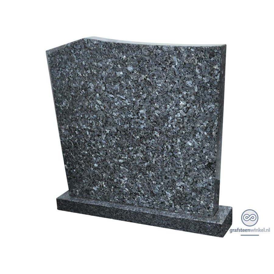 Moderne grafsteen, gemêleerd grijs-1