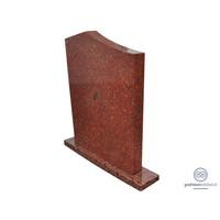 thumb-Grafsteen 'Modern', rood Graniet-2