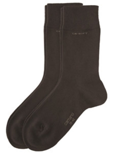 CAMANO Ca-Soft Socks 3642 17 dark brown 2er Pack