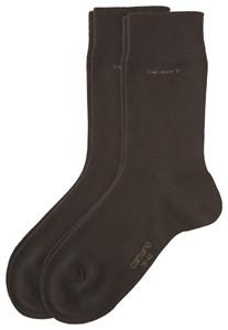 CAMANO CAMANO Ca-Soft Socks 3642 17 dark brown 2er Pack