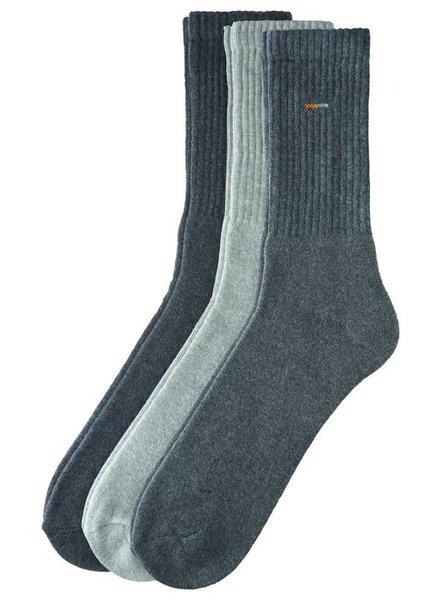 CAMANO Classic Sport Socks 5943 10 grey 3er Pack