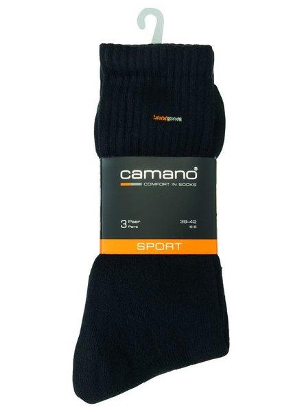 CAMANO Classic Sport Socks 5943 05 black 3er Pack