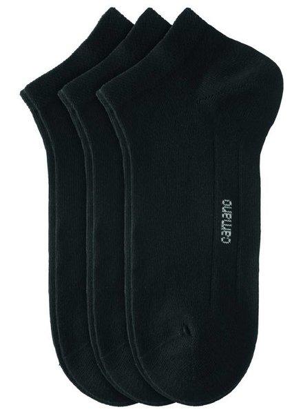 CAMANO Ca-Soft Sneaker 3003 05 black 3er Pack