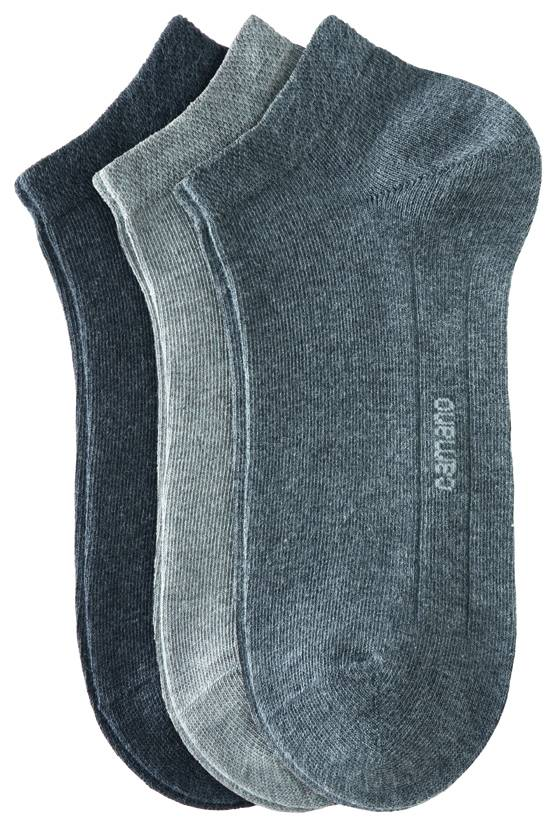 CAMANO CAMANO Ca-Soft Sneaker 3003 49 grey combination 3er Pack