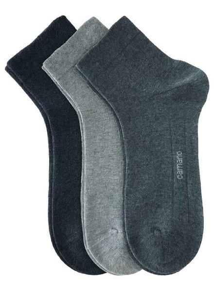 CAMANO Ca-Soft Quarter 3023 49 grey combi 3er Pack