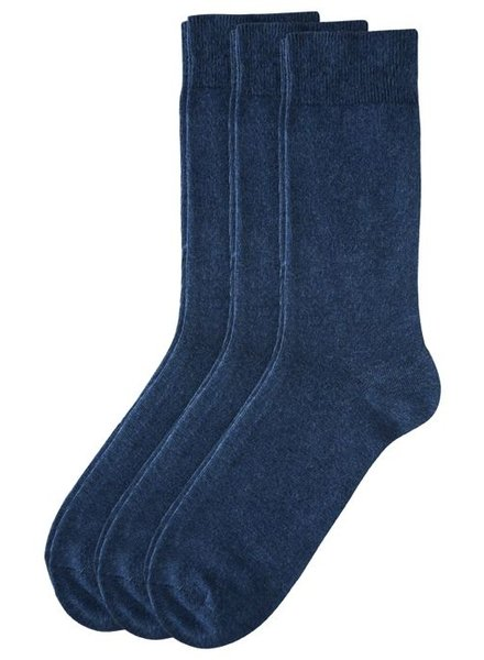 CAMANO Ca-Cotton Socks 3403 06 jeansblau 3er Pack