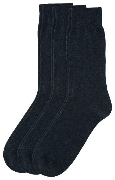 CAMANO CAMANO Ca-Cotton Socks 3403 08 anthracite 3er Pack