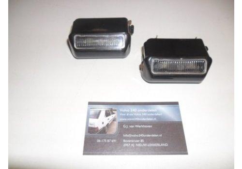 Verlichting achter bumper kentekenplaat (model: 1)Volvo 343/340