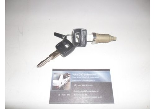Cylinder lock door handle 3287915 used Volvo 300 series