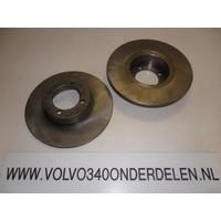 Brake disk front new Volvo 300-serie