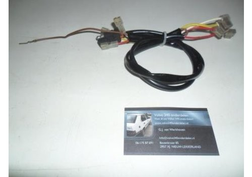 Wiring harness heater resistance Volvo 340