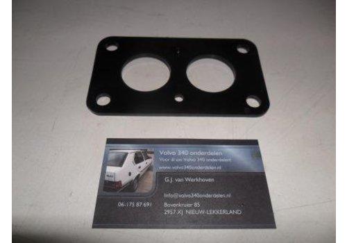 Insulation flange cooling plate carburetor weber 3267705 NEW Volvo 340
