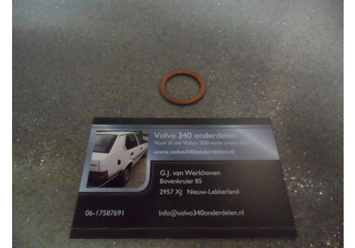 Crankcase plug ring B14 / B172 engine 3343859 NEW Volvo 340