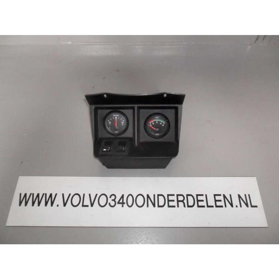 Panel with meters and switches Volvo 340, 360