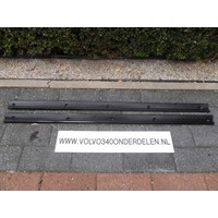 Dorpelstrip 3-deurs zwart L / R Volvo 343