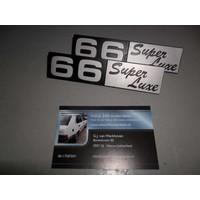 Embleem logo 660060 NIEUW Volvo DAF 66