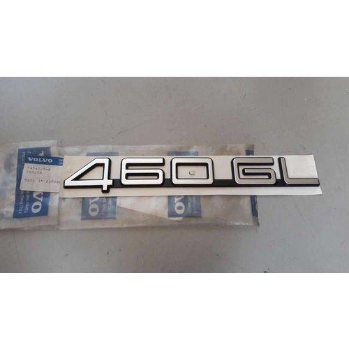 Embleem 460 GL 3454085-6 NIEUW Volvo 460