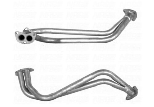 Double front pipe 3212408-3 NEW Volvo 340