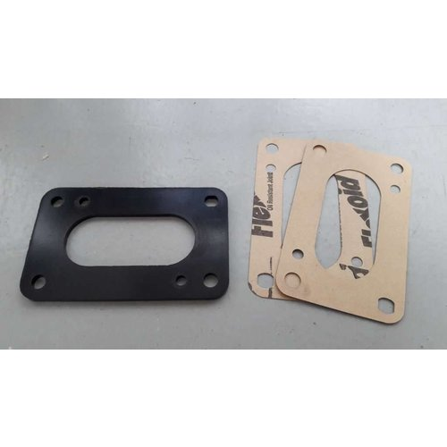 Insulation flange with gaskets B172 engine NEW Volvo 340
