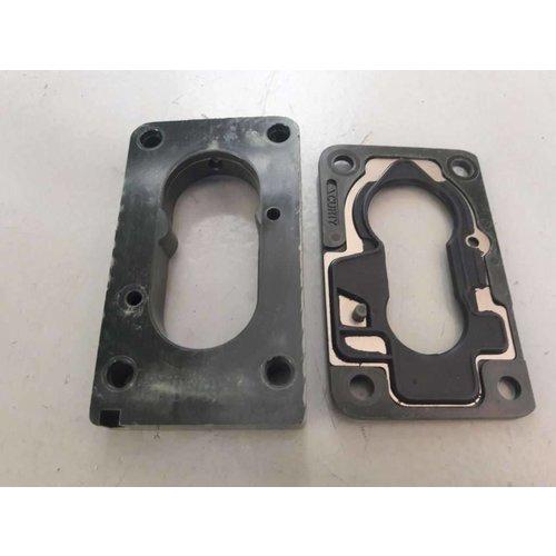 Insulation flange kit foot pad B172 motor 3344557 NEW Volvo 340