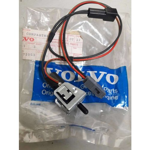 Verlichting schakelaar dashboard kastje 1323887-8 NIEUW Volvo 740, 760, 780