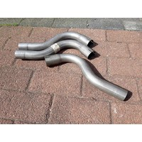 Exhaust pipe B14 engine old types 4-drs 3210196 NEW Volvo 340