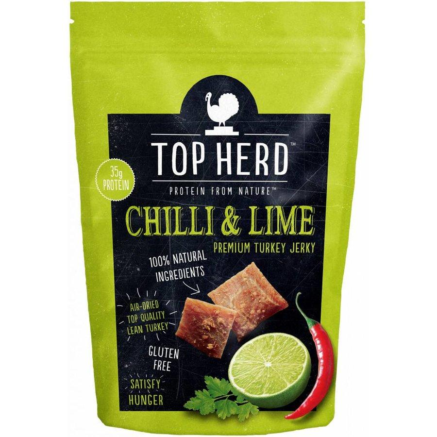 Top Herd Turkey Jerky Chilli & Lime-1