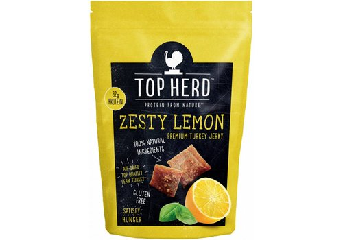 Top Herd Turkey Jerky Zesty Lemon
