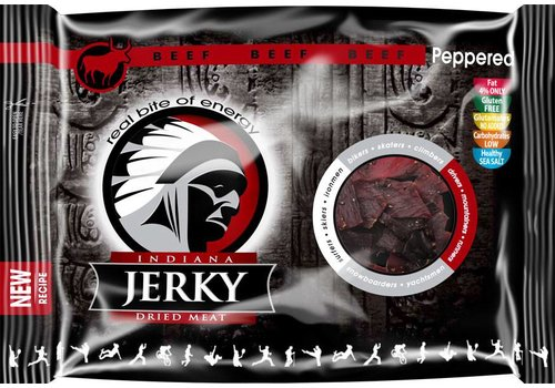 Indiana Beef Jerky Peppered