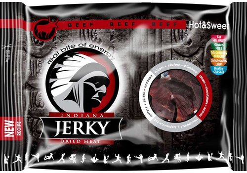 Indiana Beef Jerky Hot & Sweet