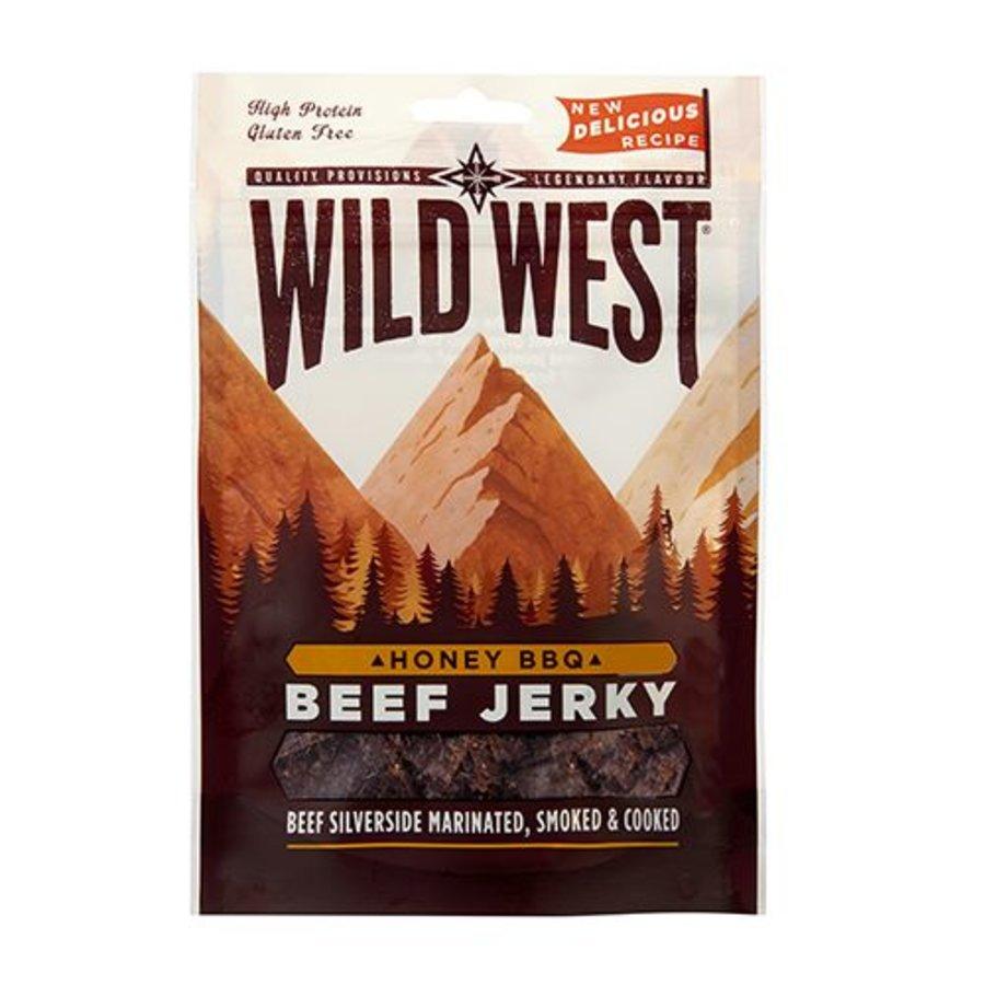 Wild West Beef Jerky Honey BBQ 70g-1
