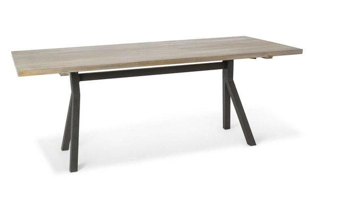 Milo tafel (weathered grey oak)