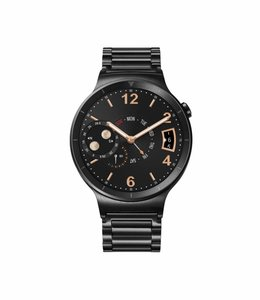 Huawei Huawei Watch Zwart roestvrij staal