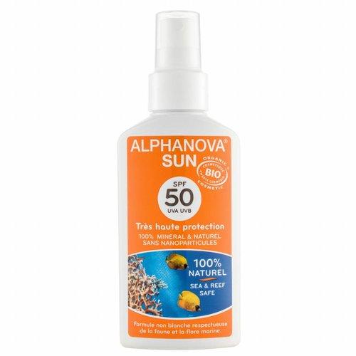 Alphanova Sun Bio Zonnebrandspray SPF50