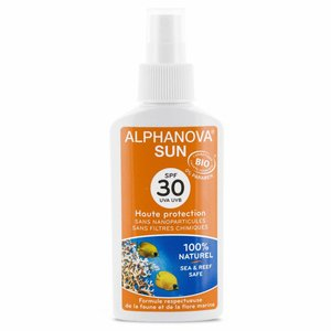 Alphanova Sun Bio Zonnebrandspray Kids SPF30 (125g)
