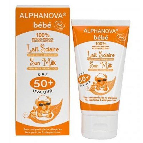 Alphanova Baby Sun Bio Zonnebrandmelk Baby SPF50+