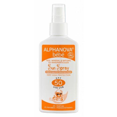 Alphanova Baby Sun Bio Baby Zonnebrandspray SPF50