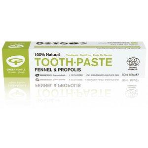 Green People Natuurlijke Tandpasta Fennel & Propolis Zonder Fluoride