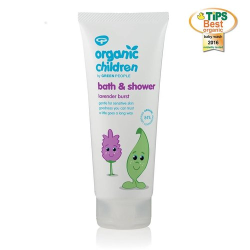 Green People Natuurlijke Bad & Douchegel Lavender Burst