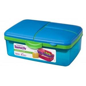 Sistema Lunchbox Slimline Quaddie- Blauw/Gekleurd