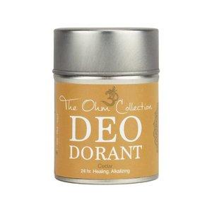 The Ohm Collection Deodorant Poeder - Cedar