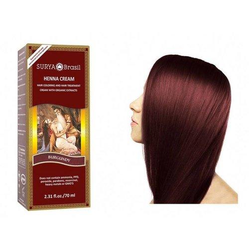 Surya Brasil  Haarverf Cream - Burgundy