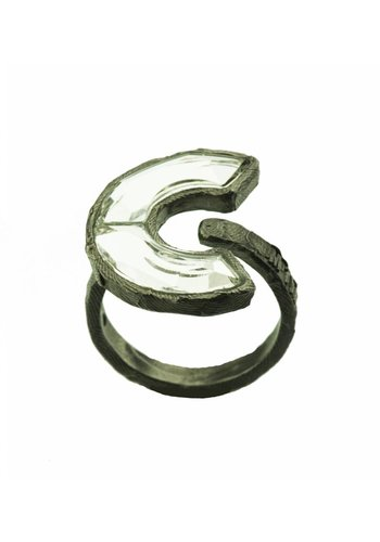 "Motyle Ring ""art deco"" M5489"