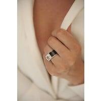 Ring Classic zwart