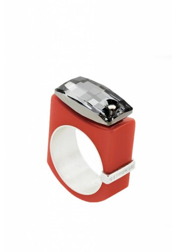 Ostrowski Design Ring Chic rood